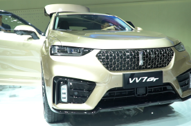 2019成都车展:WEY VV7 GT实拍,抢占市场优势明显