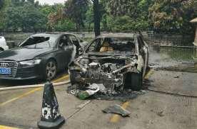 广汽新能源Aion S自燃起火后,旁边奥迪A6被烧毁谁之过?