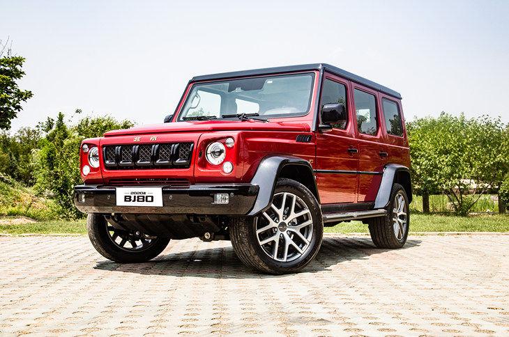 北京BJ80新增车型上市 起售价35.99万元视频