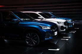 20万元内大五座SUV,中国星旗舰SUV星越L全球上市
