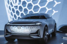 未来科技量产者,长安Vision V布局高端未来