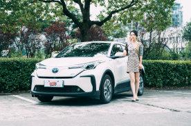 广汽丰田-C-HR EV:丰田首款纯电车,虽迟但到