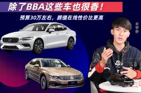 预算30万左右,颜值在线性价比更高,除了BBA这些车也很香!