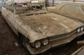 谷仓发现最美凯迪拉克敞篷车,1962年凯迪拉克62 Convertib