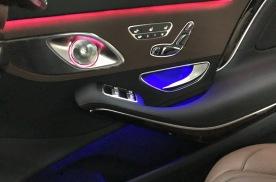 浙江杭州 奔驰迈巴赫S级改装3D旋转高音头 顶棚大柏林星捷越