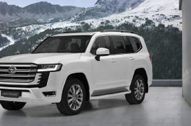 换装TNGA平台、V6双涡轮动力,丰田Land Cruiser大改款