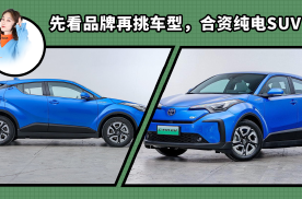 先看品牌再挑车型,合资纯电SUV