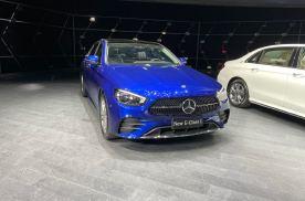 实拍中期改款北京奔驰E级 延续海外版车型设计