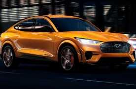 EV网:福特Mustang Mach-E新增两种车漆颜色