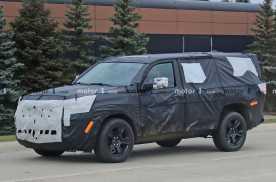 JEEP大瓦格妮谍照曝光,定位全尺寸SUV,与皮卡共享底盘