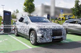 奔驰EQS SUV最新谍照曝光,车身轮廓很大气,车身线条很圆润