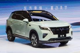 五菱首款银标SUV星辰正式亮相上海车展,外观很前卫