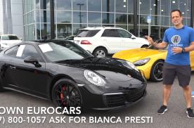 外媒体验Porsche 911 4S