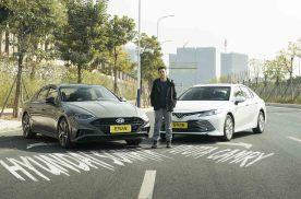 日韩系大PK!索纳塔VS凯美瑞,B级车选谁更划算?