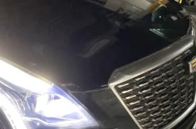 2021款凯迪拉克XT5新车发动机声音为什么这么大?