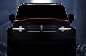 把WEY新车预告图调高亮度,真面目太硬派了,拖挂房车不在话下