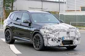 全新BMW X3 M纽伯格林测试,预计明年发布