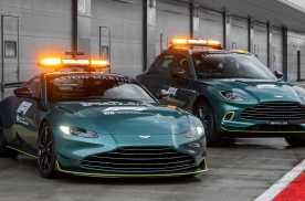 阿斯顿·马丁成为2021赛季一级方程式锦标赛安全和医疗用车