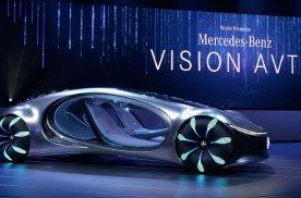 奔驰发布阿凡达概念车,电池新技术15分钟充满,续航超700公
