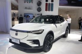 北京车展实拍天际ME7,多屏很有科技感,跨界营销有亮点