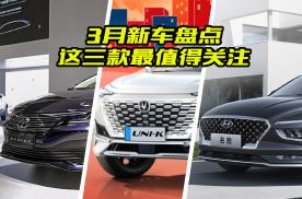 3月份值得期待的三款新车,都有哪些亮点?大斌给你全方位解读
