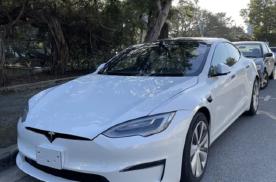 新车|新款特斯拉Model S实车曝光