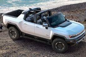 纯电悍马全球首发!有SUV和皮卡两个版本,还能斜着开