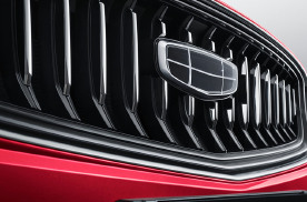 吉利汽车旗下一员猛将 全新格珊设计+黑色水晶车标