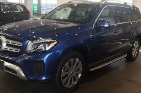19款奔驰GLS450蓝/米特价现车一台