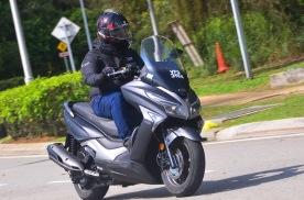 外观神似光阳赛艇,Modenas推250踏板摩托,标配ABS