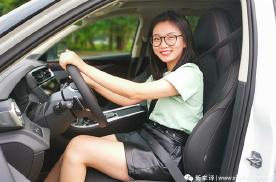 领克01长测(4):女生试了都说好上手的SUV
