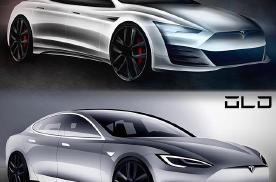 新款特斯拉Model S渲染图曝光