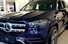 全新奔驰GLS车型海外实拍 将提供6座与7座布局