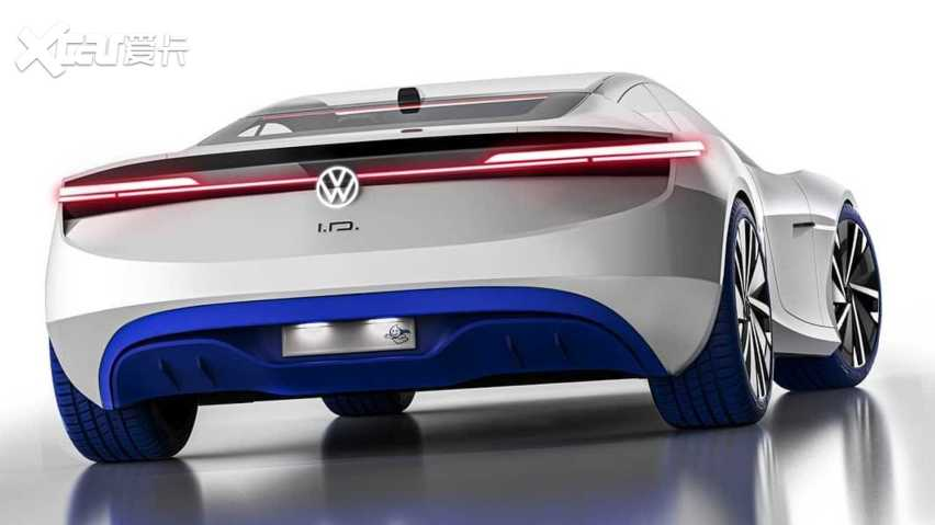 夢幻設計 大眾ID超級跑車渲染圖曝光