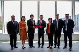 泰国驻华大使阿塔育•习萨目一行访问长城汽车