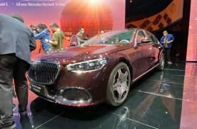 2021上海车展丨加价神器 全新奔驰·迈巴赫S 480上市