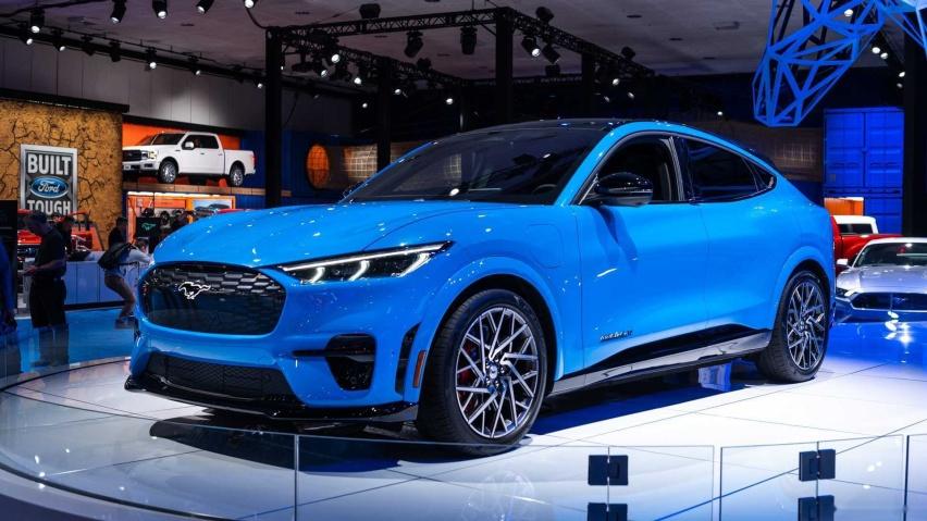 阻击ModelY 国产福特Mach-E将上海车展亮相
