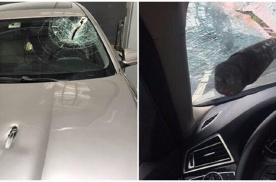 驾车时被异物击中 居然属于无责事故?