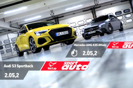 赛道比拼!奥迪S3 vs梅赛德斯-AMG A35