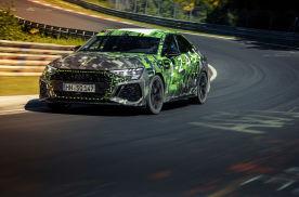 400马力加持,奥迪RS3创新纪录,成纽博格林北环赛道最快紧凑型车
