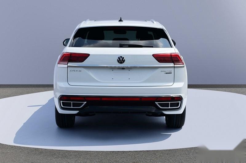 外观优化 新款上汽大众途昂X申报图曝光 有望今年上市