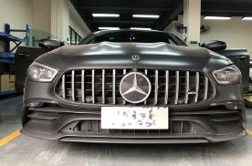 广州第一台奔驰AMG-GT50改装大柏林之声音响捷越豪车
