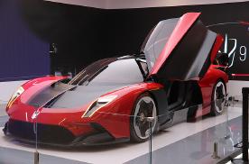 国产超跑红旗S9量产版实车正式发布,还原概念车