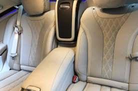 技术实拍出差北京20款迈巴赫S450升级行政座椅改装四座头等