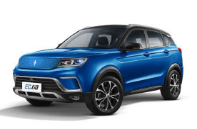 定位纯电小型SUV,续航400km,野马EC60官图发布