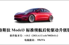 CCRT公布特斯拉Model3测评成绩 结果一目了然