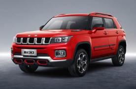 北京BJ30明日上市 预售价格10.60万-12.60万元
