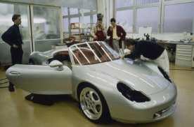 保时捷Boxster 25问世周年,追寻Boxster的起源