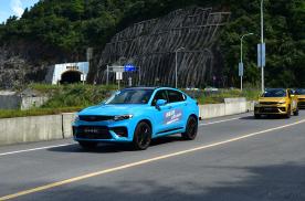 成功挑战重庆挂壁公路 波帆四百里试驾吉利星越种草ing