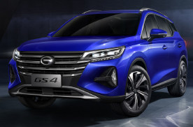 全新一代广汽传祺GS4正式下线 定位紧凑型SUV
